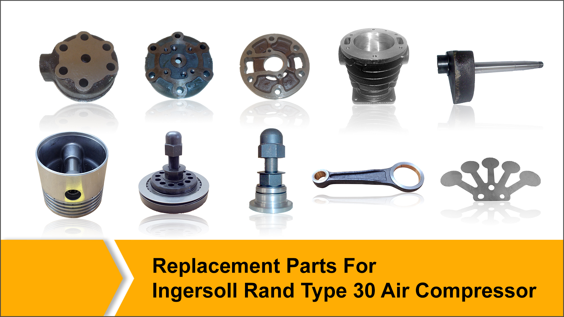 Replacement Parts for ingersoll Rand Type 30 Air Commpressor