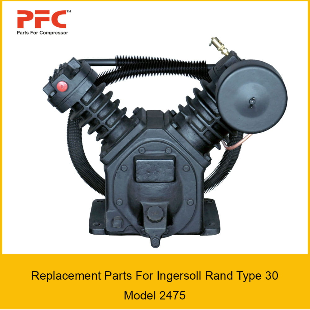 07 ingersoll rand type 30 model 2475 replacement parts