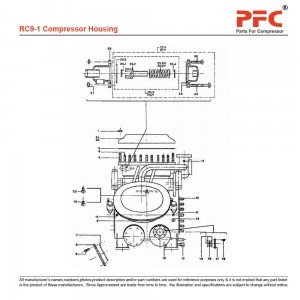 Compressor Housing - Grasso RC9 Parts