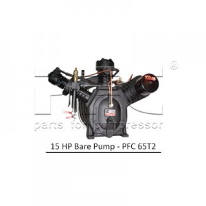 15 HP Air Compressor - Bare Pump - PFC 65T2