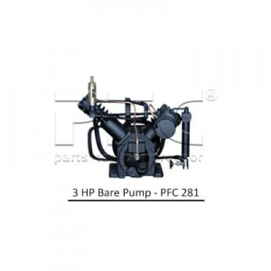 3 HP Air Compressor - Bare Pump - PFC 281