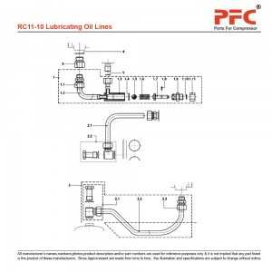 Lubricating Oil Lines - Grasso RC11
