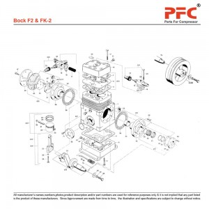 Bock FK-3 Replacement Parts