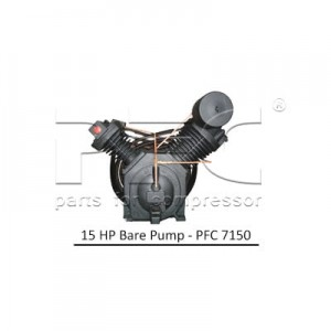 15 HP Air Compressor - Bare Pump - PFC 7150