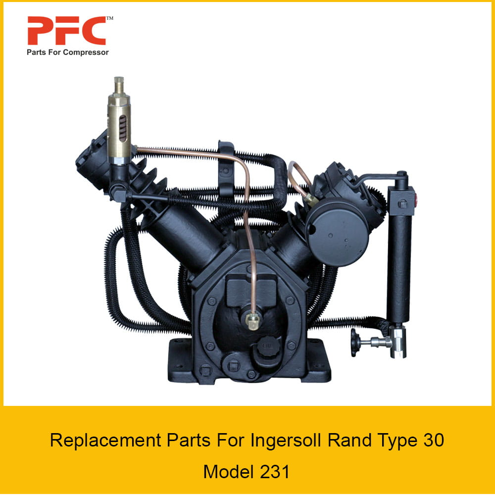 13 ingersoll rand type 30 model 231 replacement parts